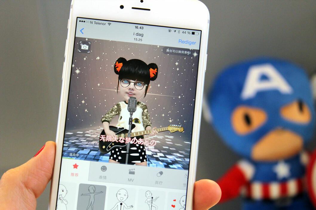 <strong><b>NY SNAKKIS:</strong></b> Denne appen er siste hype på internett. Foto: KIRSTI ØSTVANG