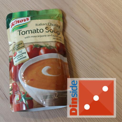 Tomatinnhold: 70 prosent tomater, 0,3 prosent soltørkede tomater. Pris: 31,20 kr, Cooo Obs
