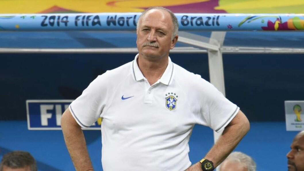 <strong>FORTVILET:</strong>   Luiz Felipe Scolari. FOTO: NTB SCANPIX