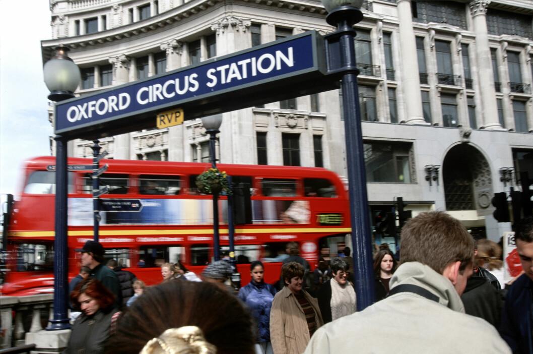 <strong><b>DYRT:</strong></b> Det er blitt langt dyrere å feriere i London på grunn av kursen på britiske pund. Foto: SCANPIX