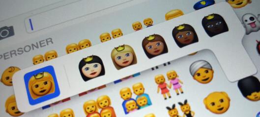 iPhone-emojiene får flere hudfarger