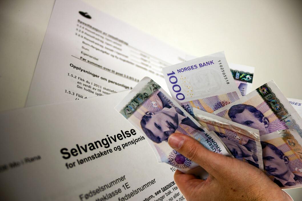 <strong><b>SPAR SKATT:</strong></b> Husk at utgifter til refinansiering og låneopptak kan trekkes av på skatten. Foto: PER ERVLAND / BERIT B. NJARGA