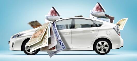 Bilavgiften raser