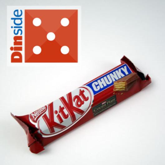 <strong><i>35 gram, Nestlé,</i> Foto:</strong> BERIT B. NJARGA