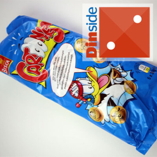 <strong><i>150 gram, Bisca, 25,30 kroner</i> Foto:</strong> BERIT B. NJARGA