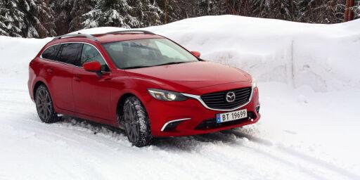 image: Vi har testet nye Mazda 6 med firehjulsdrift