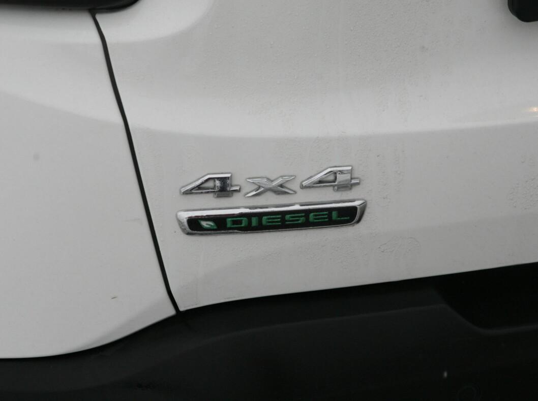 <strong><b>FLEST 4x4:</strong></b> Du får Renegade også med forhjulstrekk, men importøren forventer at de fleste vil ha den med trekk på alle fire.  Foto: KNUT ARNE MARCUSSEN