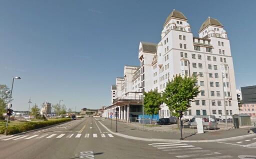 PÅ GATA: Med Street View-funksjonen kan du se hvordan ting ser ut. Her er bygget Dinside holder til i. Foto: PÅL JOAKIM OLSEN