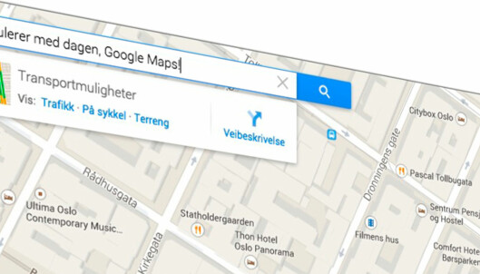 Ti kjekke Google Maps-triks