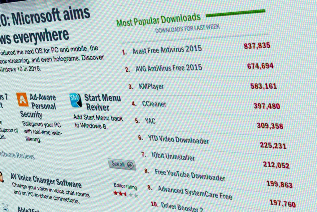 <strong>POPULÆRT:</strong> Bare den siste uka har hundre tusenvis lastet ned gratisprogrammer fra download.com. Foto: PÅL JOAKIM OLSEN