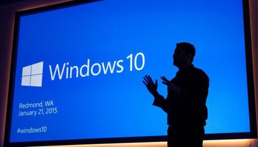 PRESENTASJON: Microsoft er kanskje ikke de mest elegante markedsførererne, men de kom ikke så verst ut av gårsdagens seanse. Foto: MICROSOFT