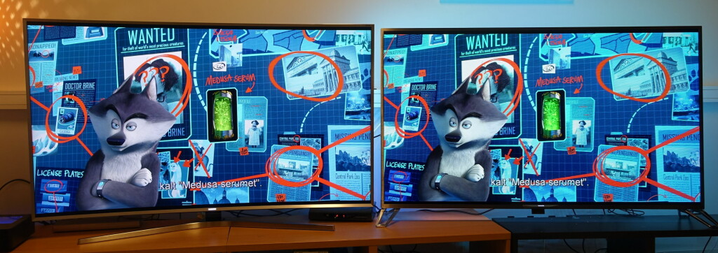 BLU-RAY: Samsung til venstre, Philips til høyre.  Foto: ØYVIND PAULSEN
