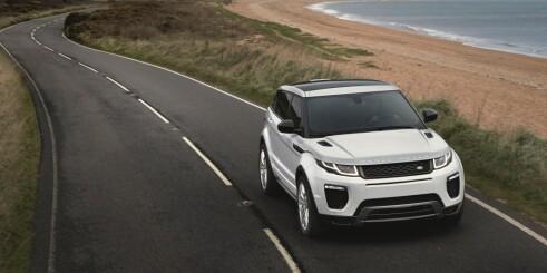 Range Rover Evoque fornyet