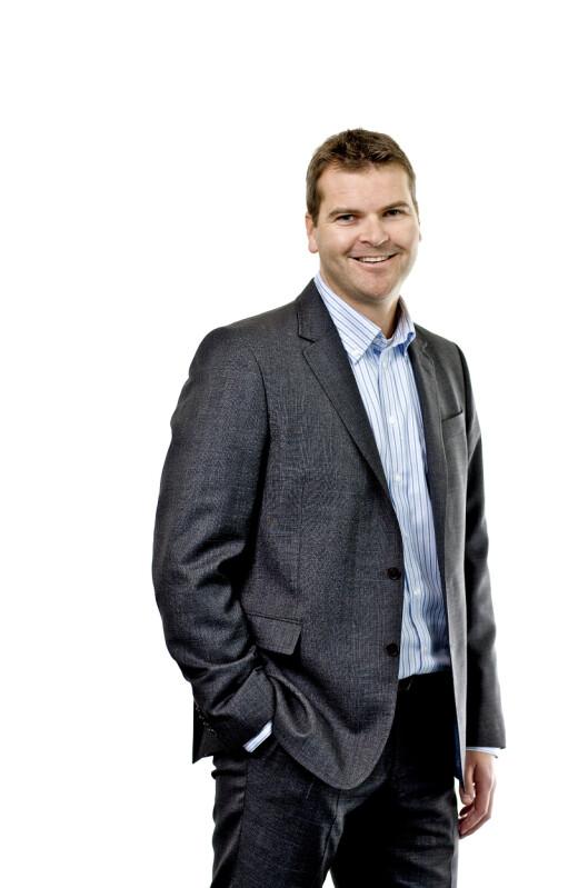 <strong><b>IKKE MENINGA:</strong> </b>MPX-direktør Stian Gabrielsen sier at MPX og Komplett ble mer like enn de hadde sett for seg.  Foto: MPX