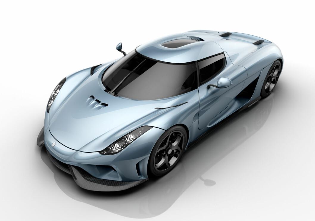 <strong><b>SØSKENLIKHET:</strong></b> Selv om Koenigsegg er innovatie som få, ser man likevel tydelig likhetstrekk mellom de ulike modellene. Foto: KOENIGSEGG