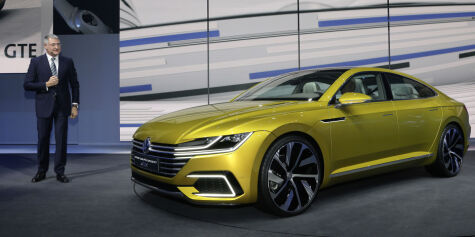 image: Volkswagen med ny Sport Coupe GTE