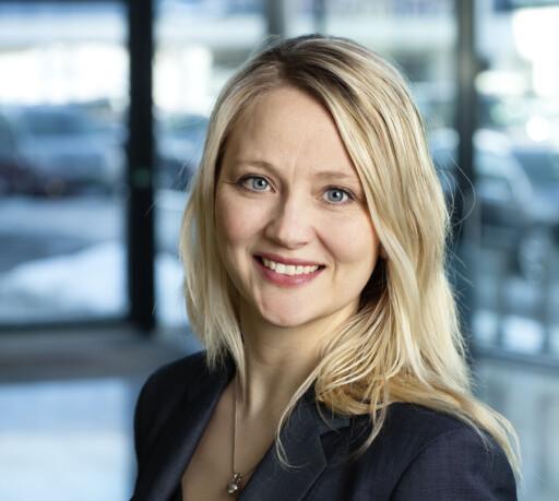 GLAD PR-SJEF: Anita Svanes er kommunikasjonssjef hos Volkswagen i Norge. Foto: VW