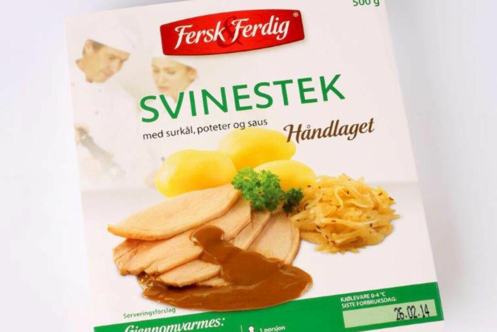 <b>TILBAKEKALLES:</b> Ferdigmatproduktet kan inneholde Listeriabakterier. Foto: UNIL
