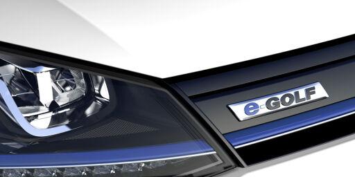 image: Volkswagen e-Golf forsinket også uten varmepumpe