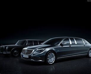 image: Mercedes-Maybach S600 Pullman