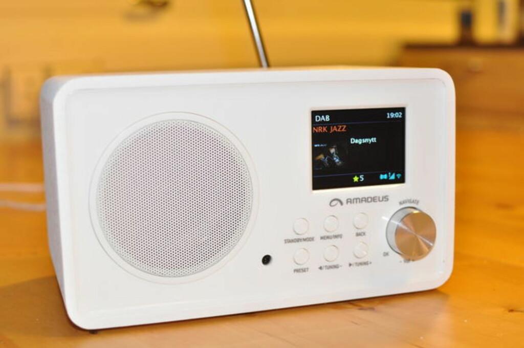 BEGGE DELER: Mange moderne DAB+-radioer gir deg også nettradio. Foto: TORE NESET
