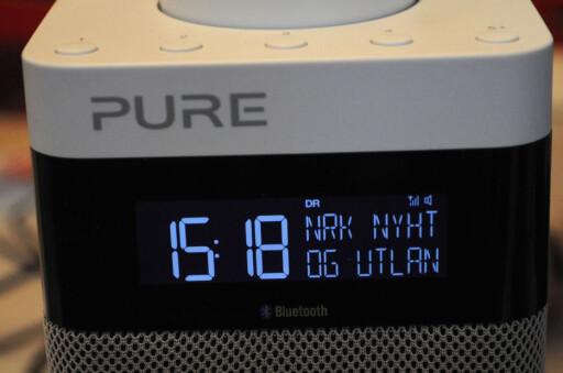 STORT UTVALG: DAB-radioer finnes nå i mange prisklasser og utgaver. Her en modell fra Pure med Bluetooth-mulighet. Foto: TORE NESET