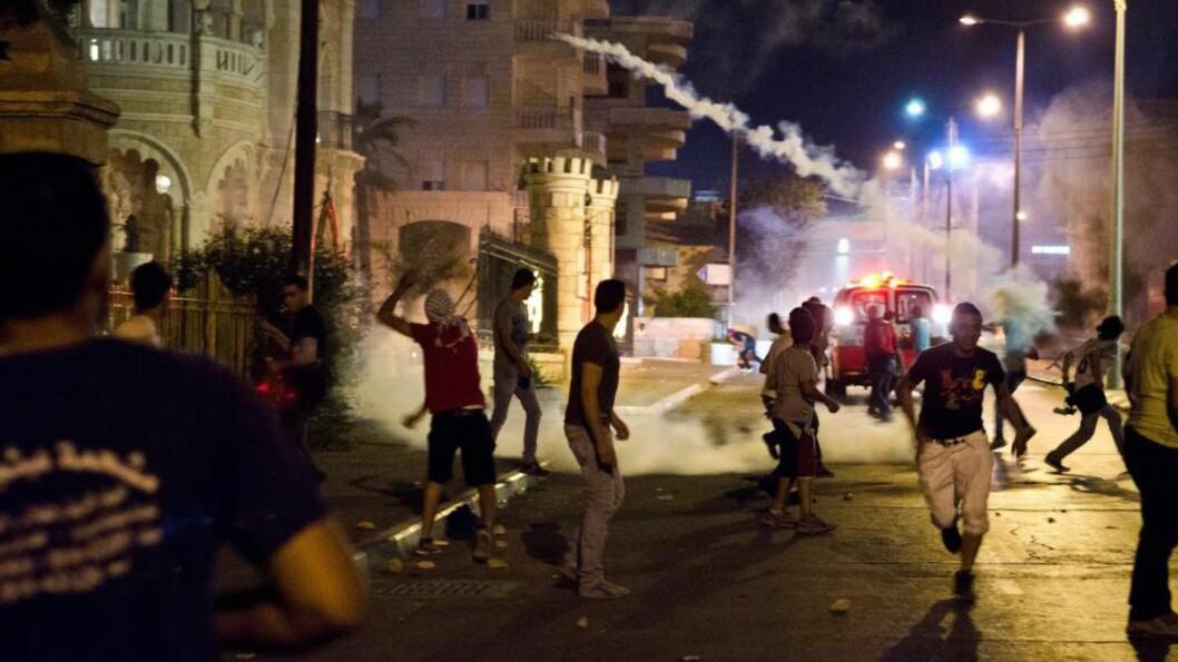 <strong>SPLITTET:</strong> Mens det pågår krig i Gaza, blir skillet mellom befolkningen og politikerne på Vestbredden stadig større. Foto: Silje Rønning Kampesæter