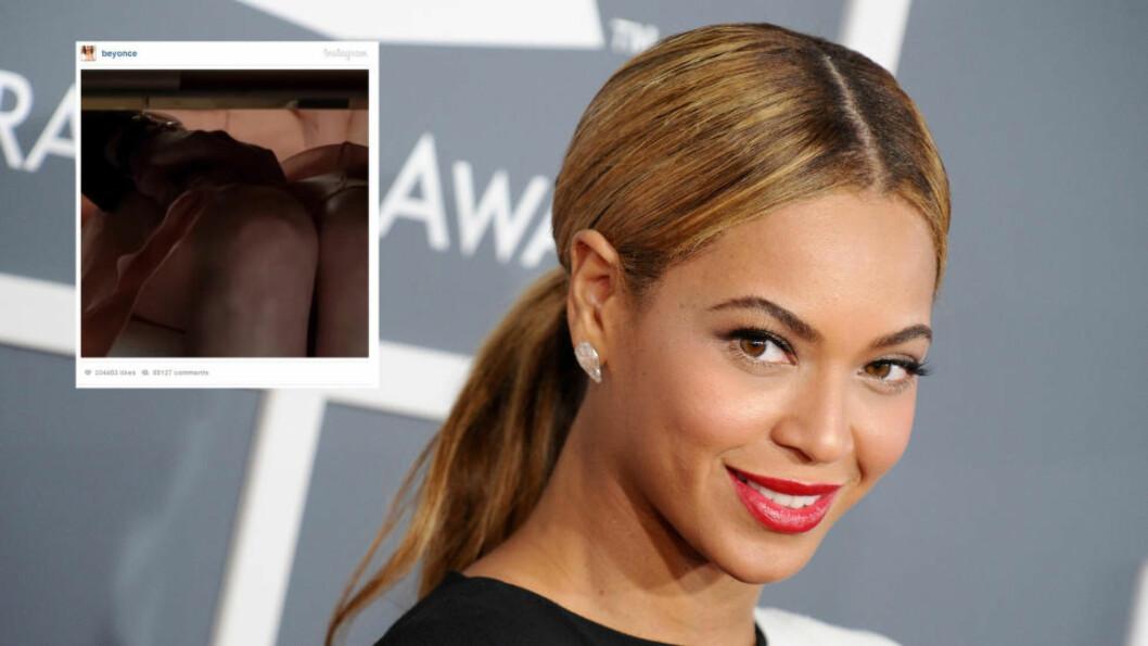 <strong> MUSIKK I FILMEN?:</strong>  Superstjerna Beyoncé la ut en filmsnutt fra den kommende filmen «Fifty Shades of Grey», og hintet dermed om at hun bidrat til soundtracket i filmen. Foto: Stella Pictures