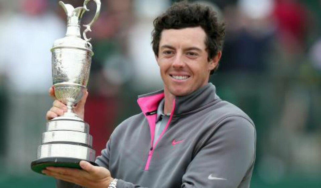 <strong>SEIER:</strong>Rory McIlroy i British Open. Foto: AFP PHOTO / ANDREW YATES