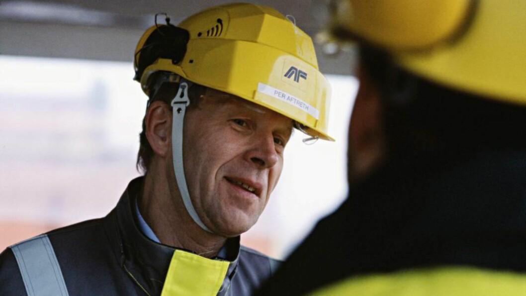 <strong>ØKONOMI:</strong> Per Aftreth var gründer og ledet AF Gruppen da det ble børsnotert i 1997. 10 år senere takket han for seg som adm. dir. og tre år senere solgte han aksjene sine i selskapet. Foto: Finansavisen