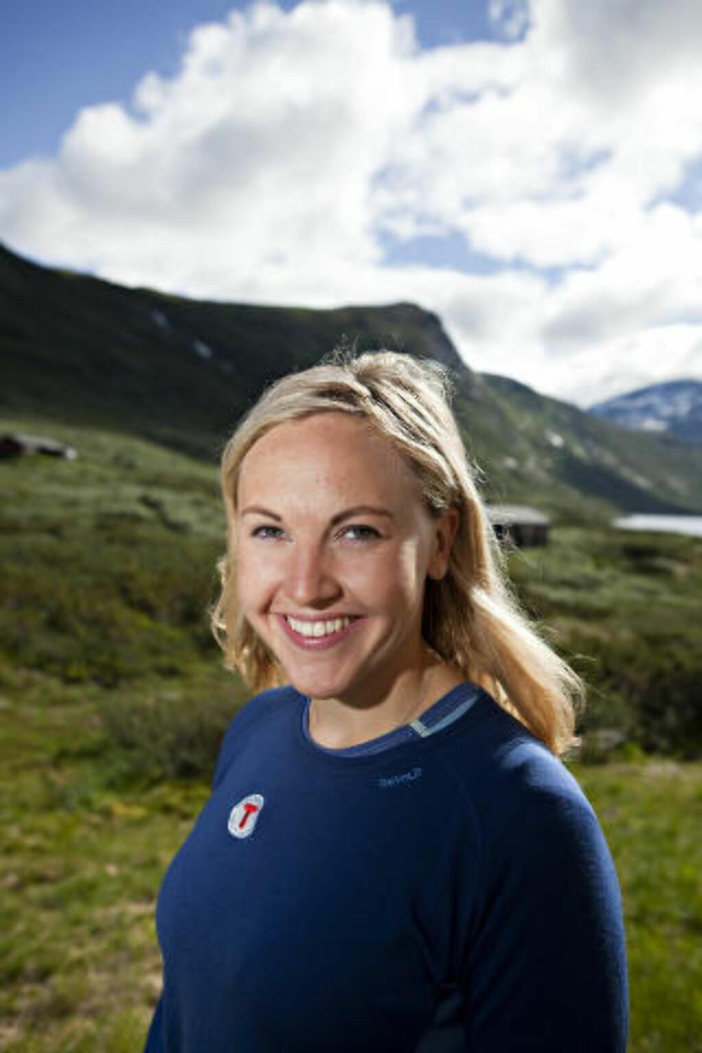 PÅ FJELLET:  Fjellet er det mest romantiske stedet å finne noen, sier Ida Amelie Helgesen i Den Norske Turistforening. Foto: ELIN HANSSON