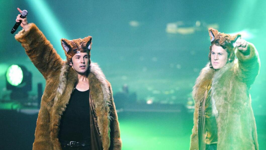 <strong>SUKSESS:</strong> Bård og Vegard Ylvisåker opplever stor suksess med «The Expensive Jacket Tour». Nå kommer de også med et nytt Stargate-samarbeid, røper produsent Mikkel Eriksen. Foto: Sjur Stølen