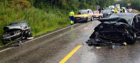 Sjåfør erkjenner å ha sovnet før trafikkulykke