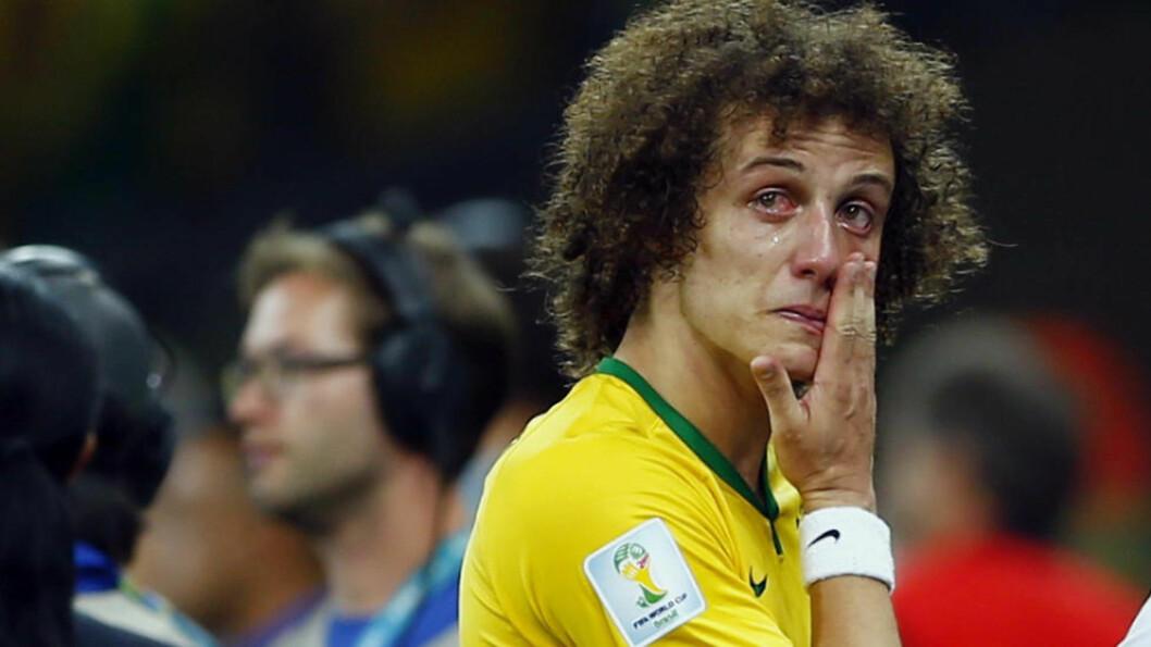<strong> VI ER MACHO:</strong>  Dunga er ikke fornøyd med Brasils tårer under VM på hjemmebane. FOTO: NTB Scanpix