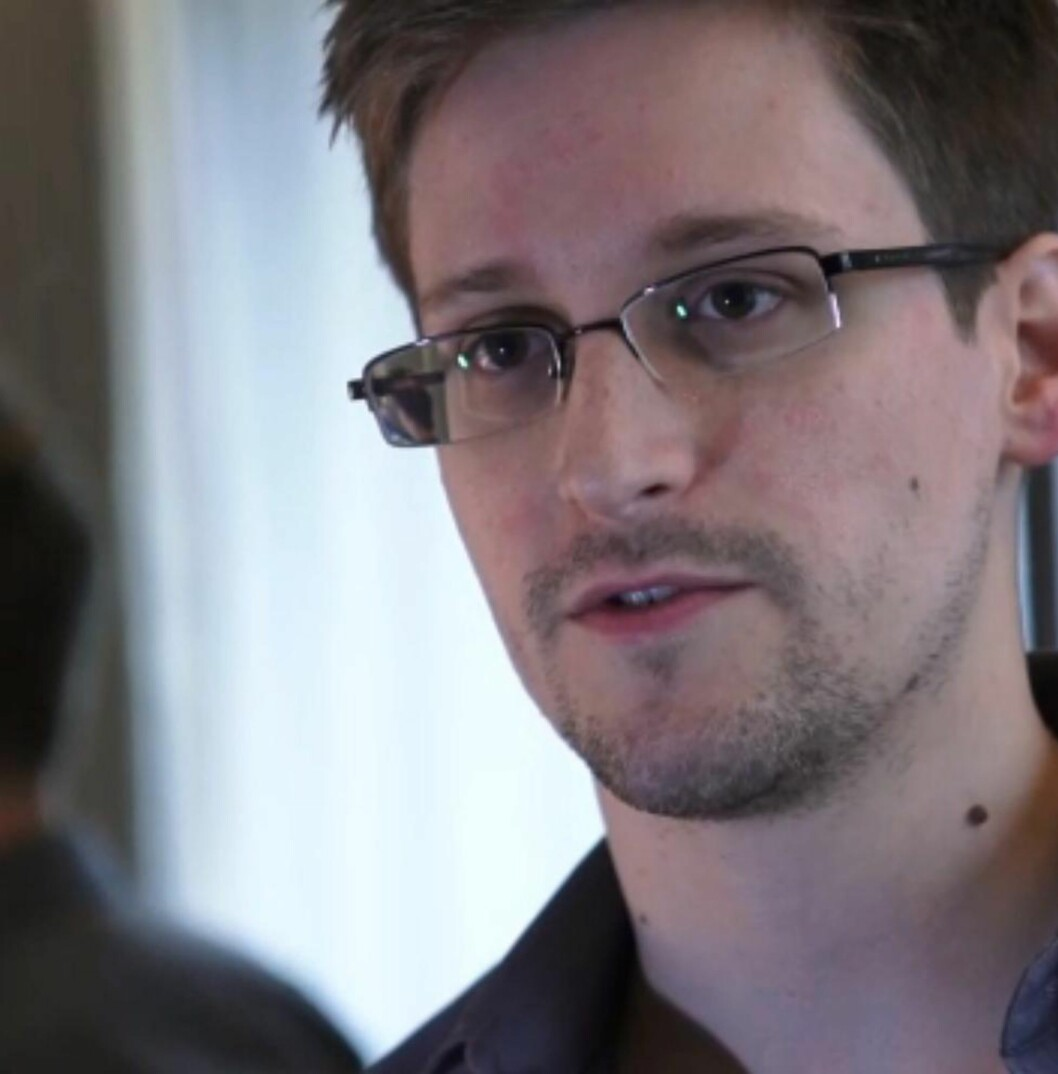 <strong>LEKKET DOKUMENTER:</strong> Edward Snowden. Foto: AFP / The Guardian / NTB Scanpix