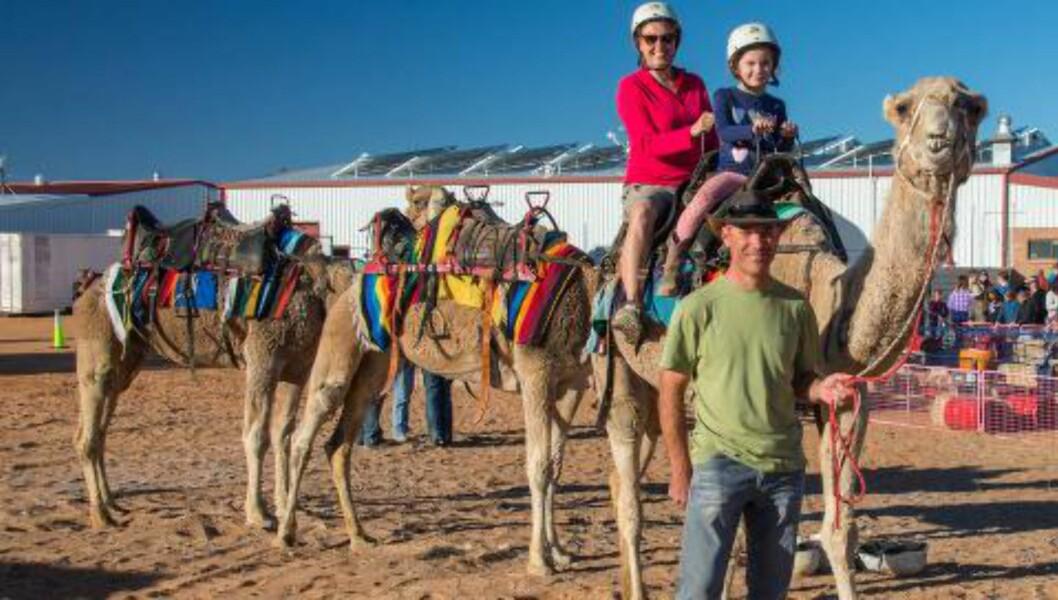 <strong>KAKADU, AUSTRALIA:</strong> Familien er på tur i Kakadou. Foto: Andrew Paice/Getty Images