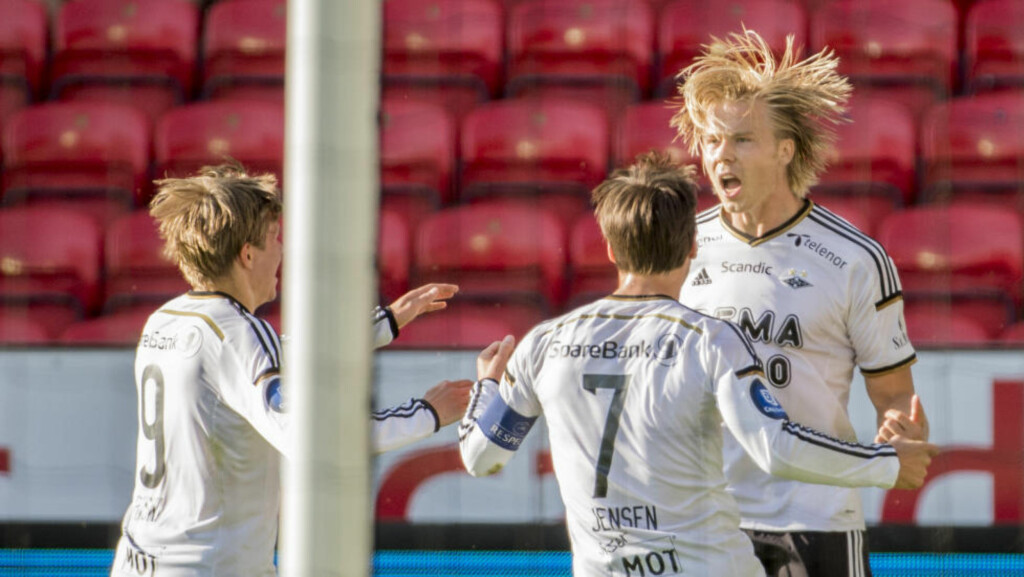HELTEN: Alexander Søderlund sørget for en etterlengtet opptur for Rosenborg. Foto: Ned Alley / NTB scanpix