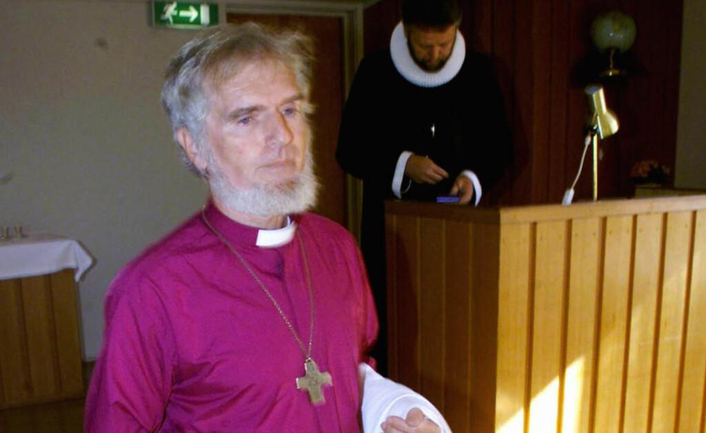 DØDE I DAG:  Presten Børre Knudsen døde søndag. Han ble 76 år gammel.  Foto: Lise Åserud / SCANPIX.