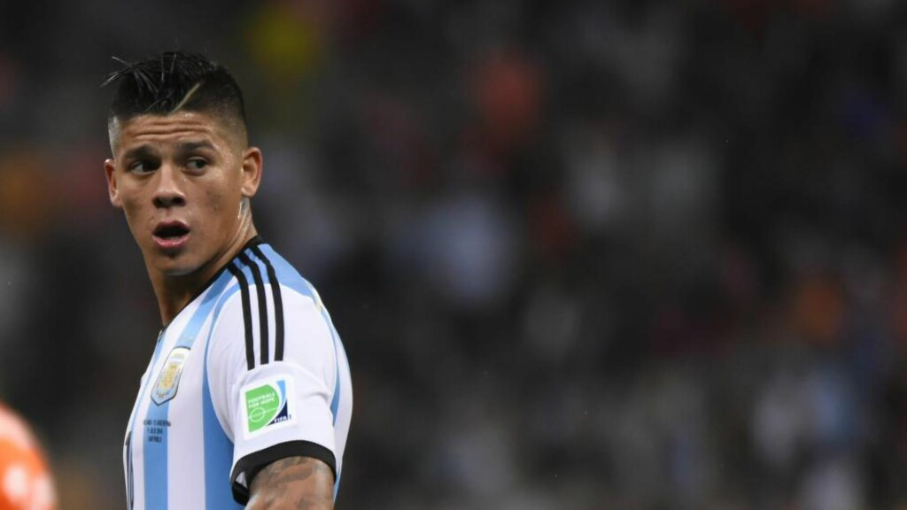 KLAR: Marcos Rojo er klar for Manchester United. Foto: AFP PHOTO / FABRICE COFFRINI