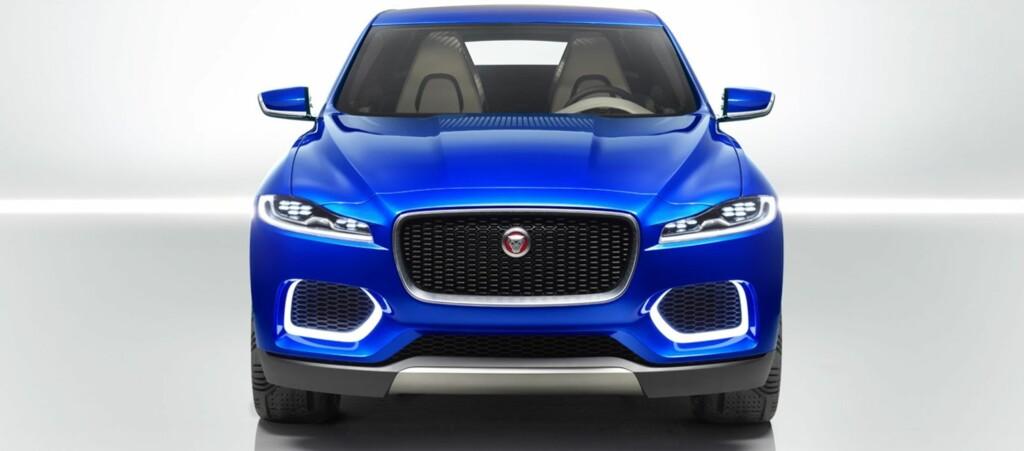 <b>AGRESSIV:</b> Jaguar har sagt de skal tilbake til sine racingrøtter, og F-Type var første modell i den retning. F-Pace blir en femseters crossover tydelig inspirert av sportsbilen F-Type. Foto: JAGUAR