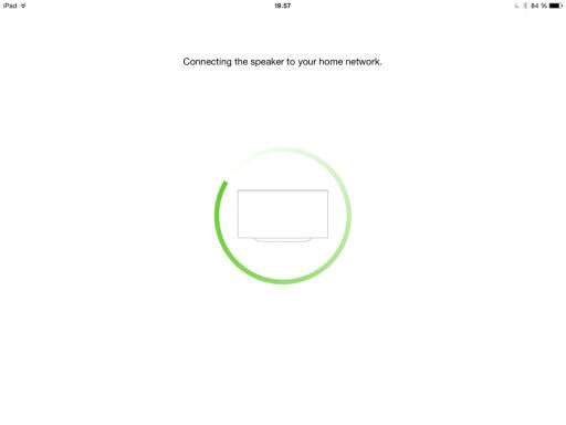 VENTER: Det tar sin tid før appen finner høyttalerne. Foto: TORE NESET