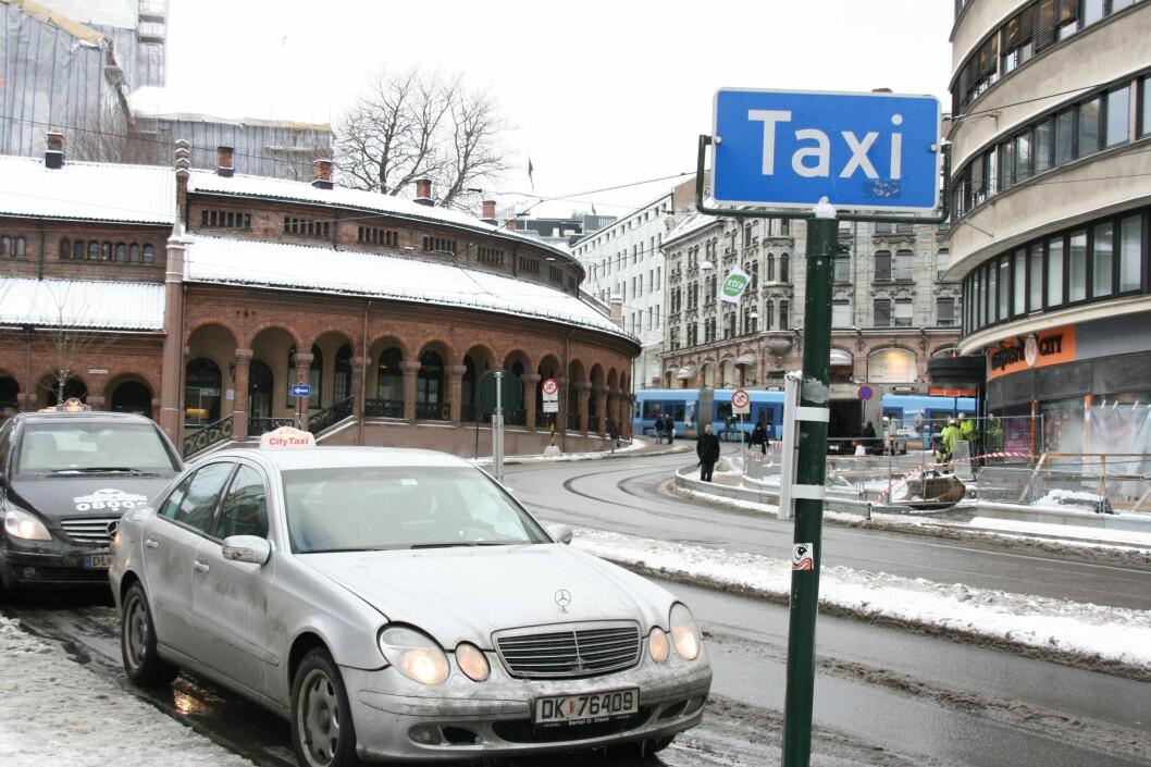 <b>HVOR ER DE?</b> Det burde være nok taxier tilgjengelig, i det minste i sentrale strøk.  Foto: Kim Jansson