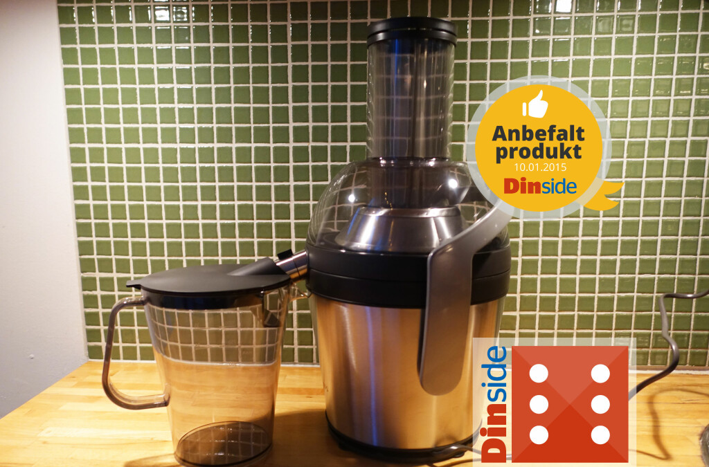 <b>ANBEFALT SEKSER:</b> Philips Avance Collection Juicer var intet mindre enn en eksepsjonelt god start på teståret.   Foto: ELISABETH DALSEG