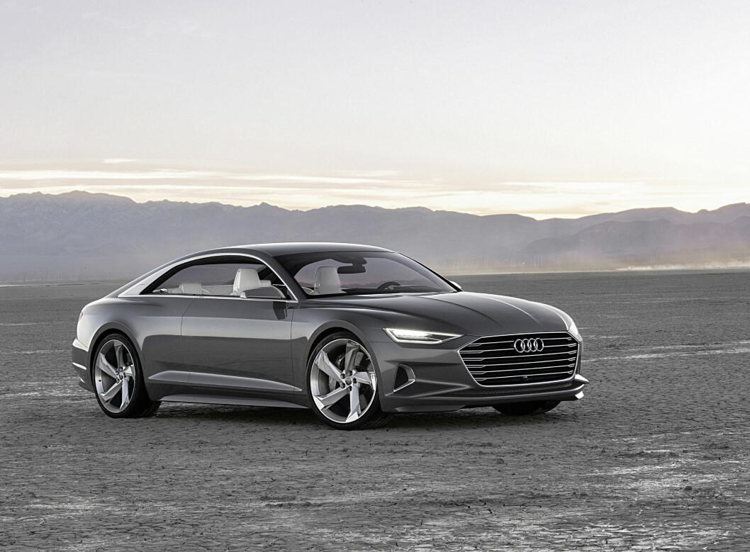 <strong><b>PROLOG:</strong></b> Nei, dette er ikke en ren show-bil, det er mer enn som så. I overskuelig fremtid vil vi se hva det endelige resultatet blir. Foto: AUDI