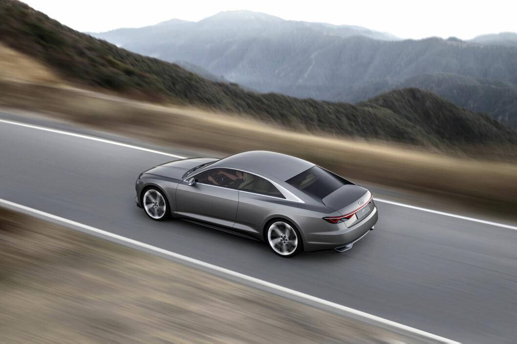 <strong><b>UTEN KRIMSKRAMS:</strong></b> Som dagens Audi-modeller har prologue uvanlig renskåren linjeføring. Foto: AUDI