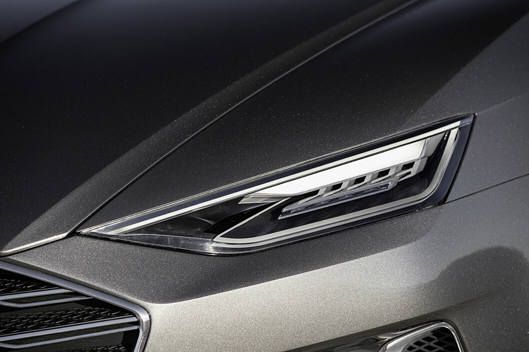 <strong><b>DETALJ:</strong></b> Forlykten til Audi prologue. Foto: AUDI