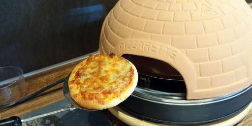 image: Rimelig og grei minipizzaovn