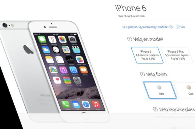 8f0cee2aa Mobil: iPhone 1.100 kroner dyrere - DinSide