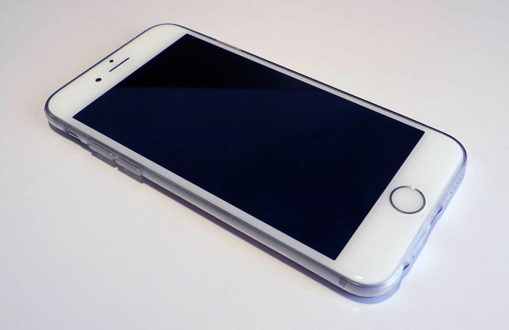 Smart og gjennomsiktig iphone deksel dinside - Deksel x ...