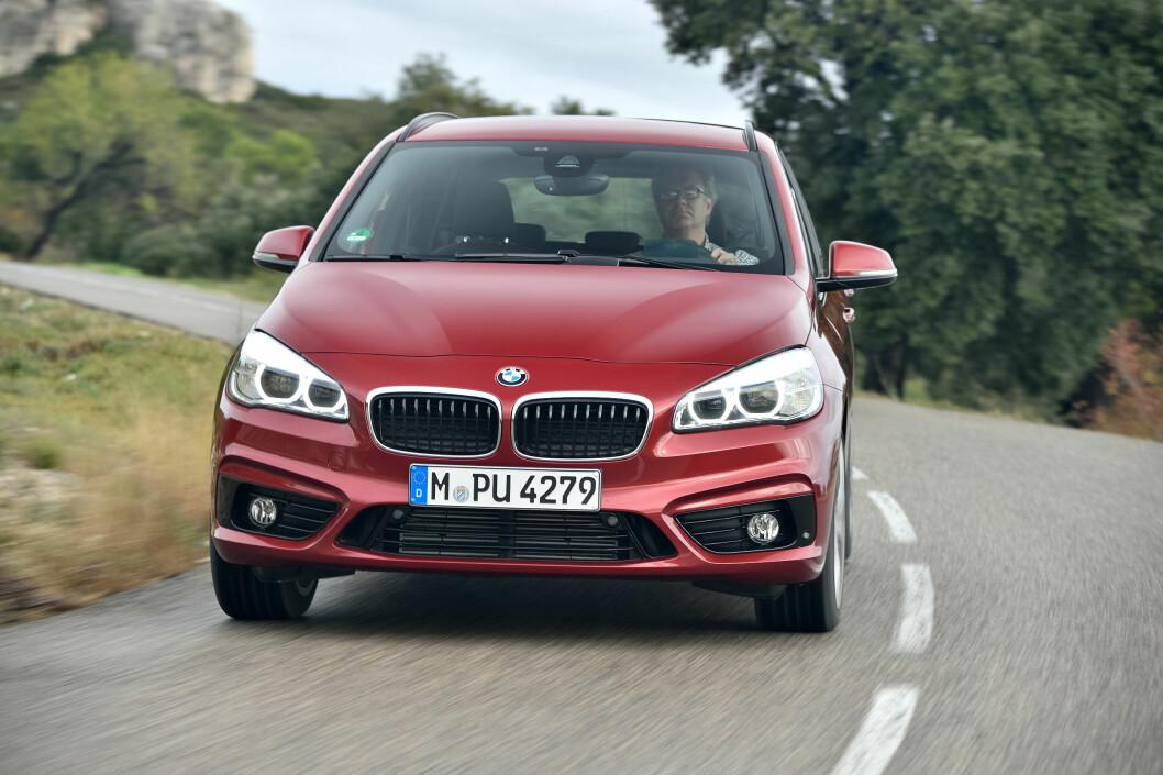 <strong><b>BMW 2-SERIE ACTIVE TOURER :</strong></b> Den mest komplette MPV for øyeblikket. Foto: BMW